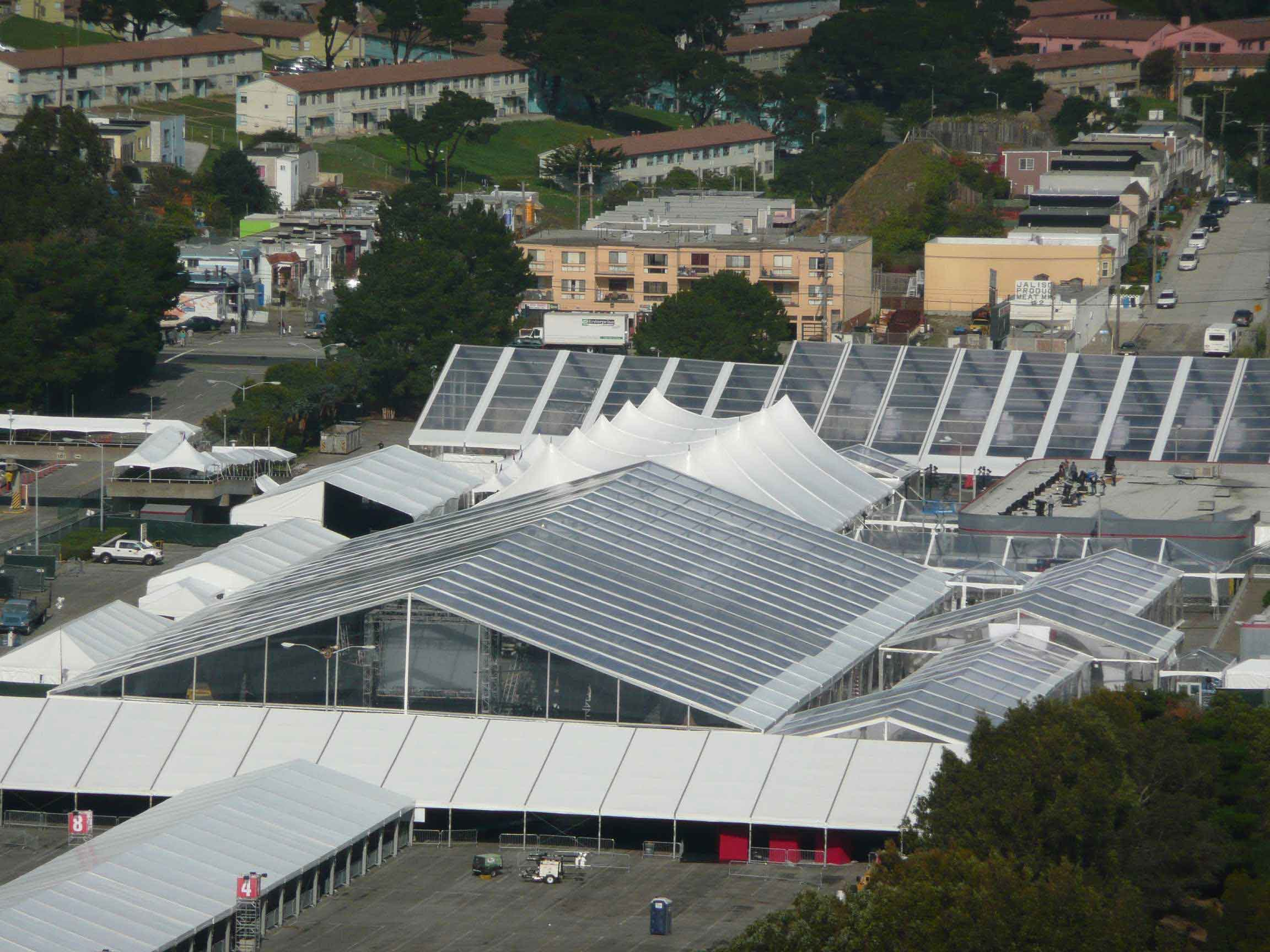 Tent Sale Canada >> Huge Tents | Large Clear Span Structures