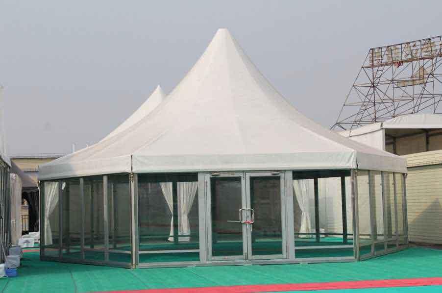 187 Polygonal Tents