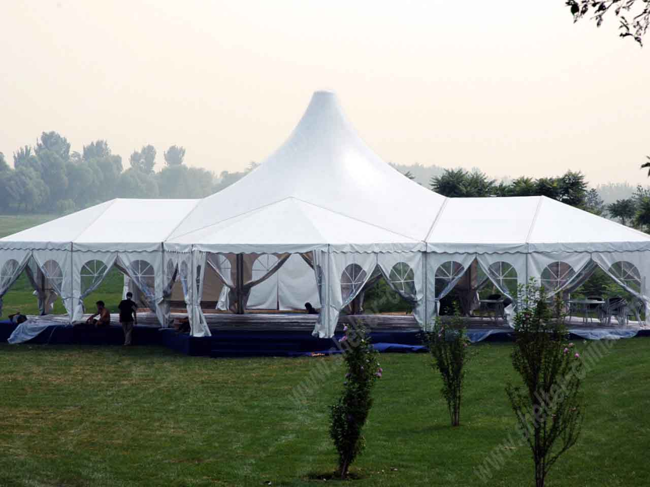 Custom Tents Shelter : Custom event tent sales for wedding shelter structures