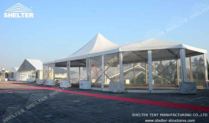 marquee tents - Mixed Party Tent - Wedding Marquee - Large Event Marquees for Sale - Shelter Tent