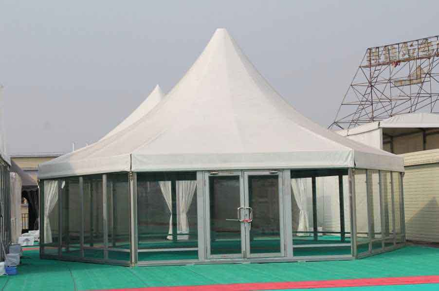 Polygonal Tent Shelter Structures