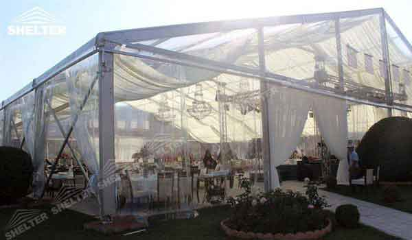 & Clear Marquee Tent | Shelter Wedding Tent