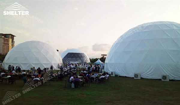Shelter Dome Tent : Geodesic tent m event dome sale in us shelter