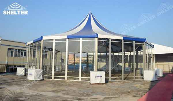 Covered Shelter Polygon : Polygonal tents outdoor event tek