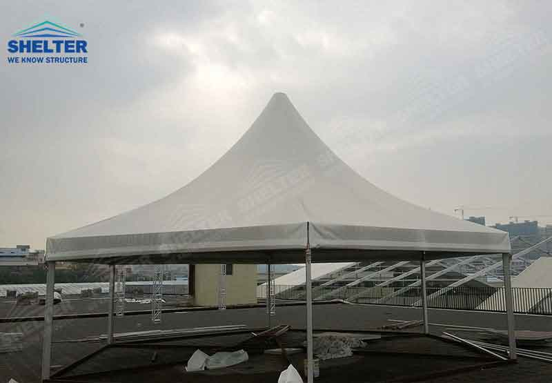 polygonal tents - high peak roof tents - event marquee - shelter tent - 5