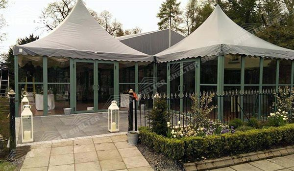 High Peak Pagoda Tent Top Marquee Shelter Tent