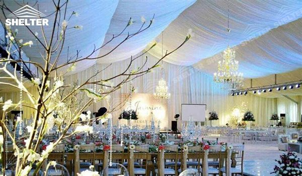 Outdoor Wedding Tents With Luxury Decorations & Wedding Tent | Marriage Hall | Wedding Marquee | Shelter Structures