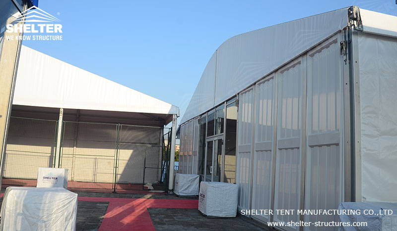 Original size is 800 × 467 pixels & Temporary Storage Tent - Outdoor Warehouse Building for Sale ...