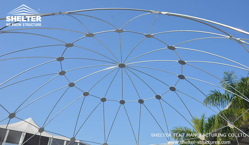 geodesic dome tent - event tents for sale - wedding marquee - shelter tent-2