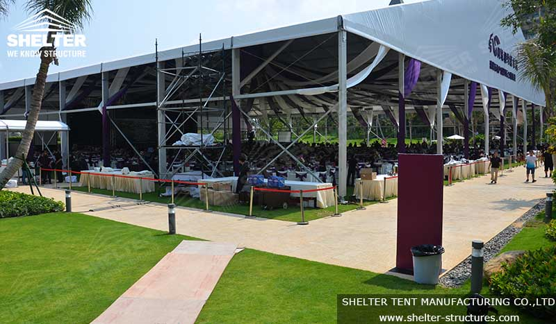 large event tent - tent for parties - party marquee for sale - shelter tent - 3