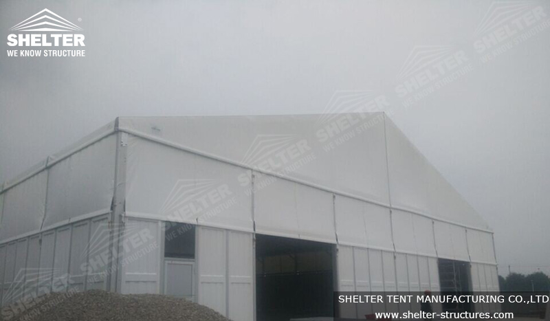 tent for storage - warehouse tent - large event tent - shelter tent - 3