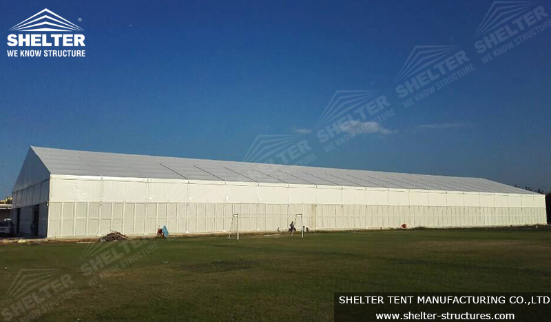 tent for storage - warehouse tent - large event tent - shelter tent - 4