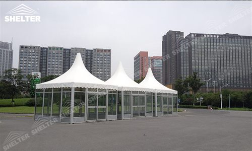 Original size is 500 × 300 pixels & SHELTER Pagoda Tent - Top Tents - Chinese Hat Marquee - Pinnacle ...