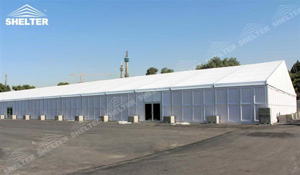 SHELTER Temporary Warehouse Tent - Temporary Storage Building - Fabric Structures for Industrial Use -32