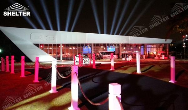 Event Management audi Q3 car show tent event tents Shelter Tent
