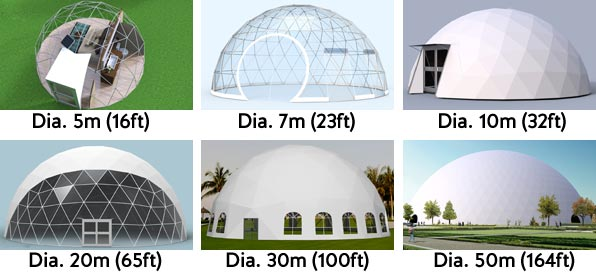 geodesic-dome-dimension-reference