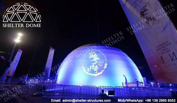 Geodesic Dome - Geodesic Dome Tent - Event Dome - Projection Dome - Portable Dome Tent - Big Dome Tent - Dome Tent for Sale - Sphere Tent - 30m Dome - Shelter Dome (9)