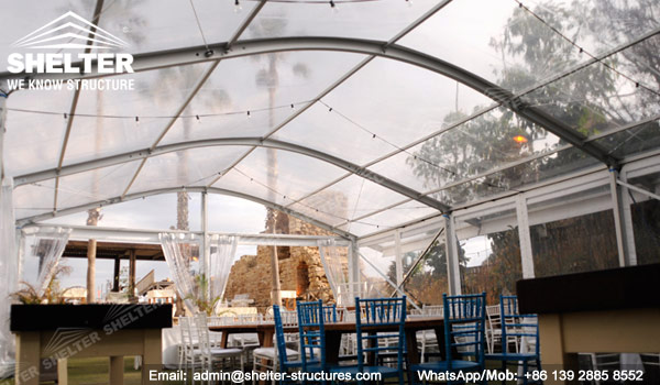 Transparent Christmas Tent For 100 Seaters Shelter