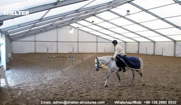 how to build a cheap riding arena