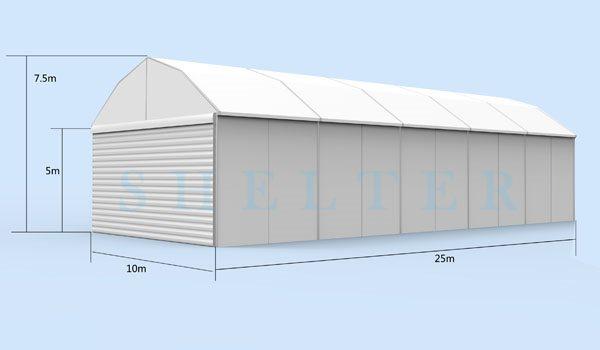 10x25m Polygonal Tent