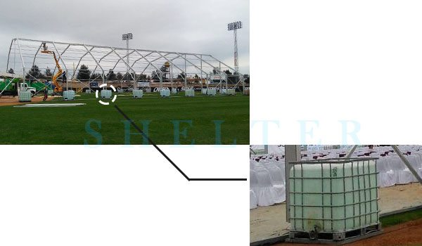 Shelter Transparent Polygonal Tent for Outdoor Conference & Forum -22