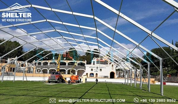 Shelter Transparent Polygonal Tent for Outdoor Conference & Forum -7