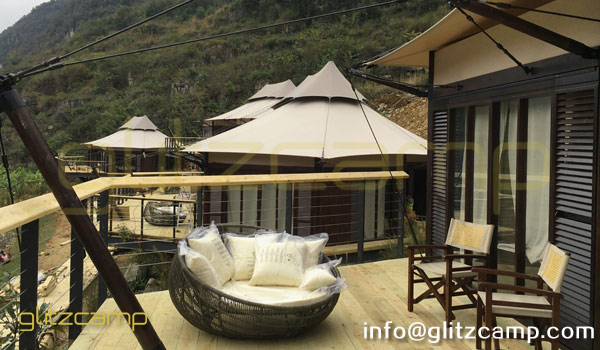 safari-gl&ing-tents-hotel-resorts-tents-african-style- & Prefab Structure in Hotel u0026 Glamping Resorts | Shelter Structures