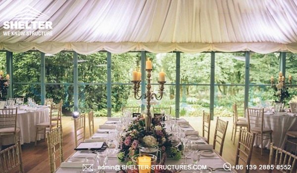 Shelter Custom Tent Design for Wedding - Luxury Marriage Banquet Hall - Multi-application Fabricated Structure From Shelter -14