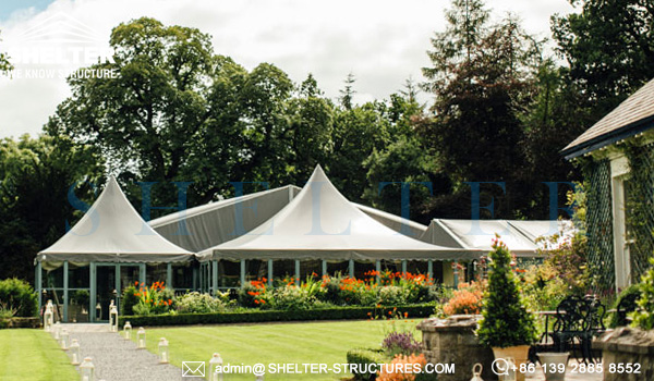 Custom Tent Design for Wedding / Banquet / Resort & Wedding Tent | Marriage Hall | Wedding Marquee | Shelter Structures