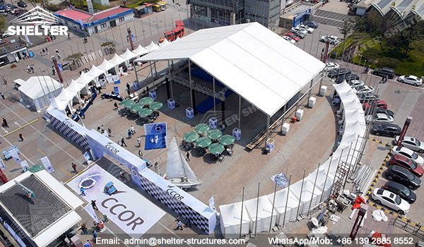 SHELTER Event Tent - Commercial Marquees - Reception Hall - Temporary Lounge Tent -81