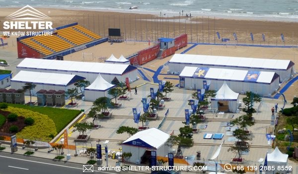 shelter sports hospitality tent for asian beach games