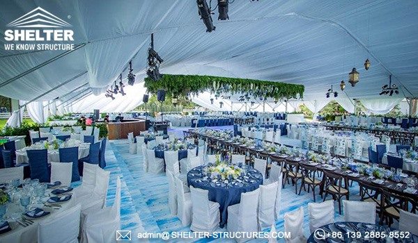 30 x 40m Tent with Curved Roof - Arch Wedding Marquee sale in Mexico (5)