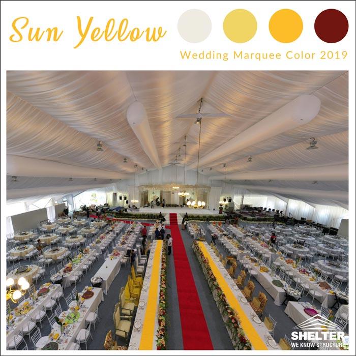 sun-yellow-wedding-marquee-color-2019-2
