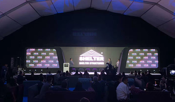 EIS 2019 Event Industry Show Mexico - Diamond Sponsor Polygonal Stage Tent (7)