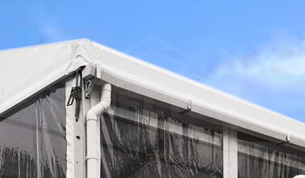 Shelter Rain Gutter for outdoor event tent