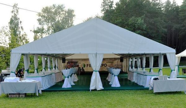 Shelter pvc curtain door for outdoor event tent wedding marquee