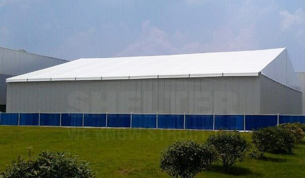 Shelter warehouse structure accessories sandwich panel wall temporary storage tent