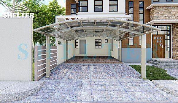 Awning Additional Use-garage shelter-front door sunshade- Carport and Patio Cover-Shelter Carport