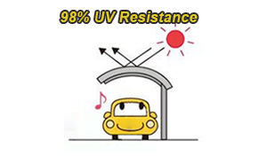 UV protection carport- Protect your car paint