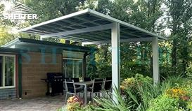 bbq-awning-4x4m-patio-awnings-carport and patio cover-flat roof patios cover-Sunshield Shelter