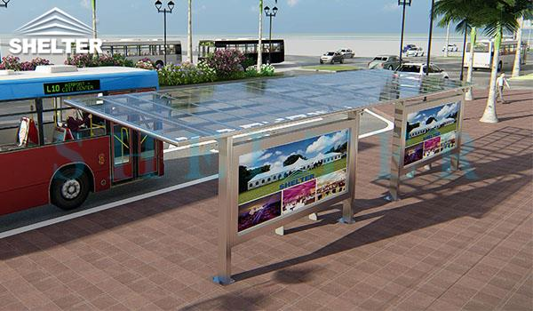 carport and patio cover_bus stop shelter-polycarbonate cover