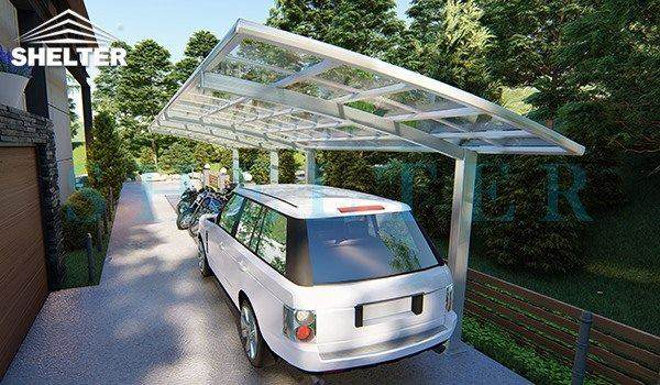 residential use -car and bike shed-carport and patio cover-Shelter Carport