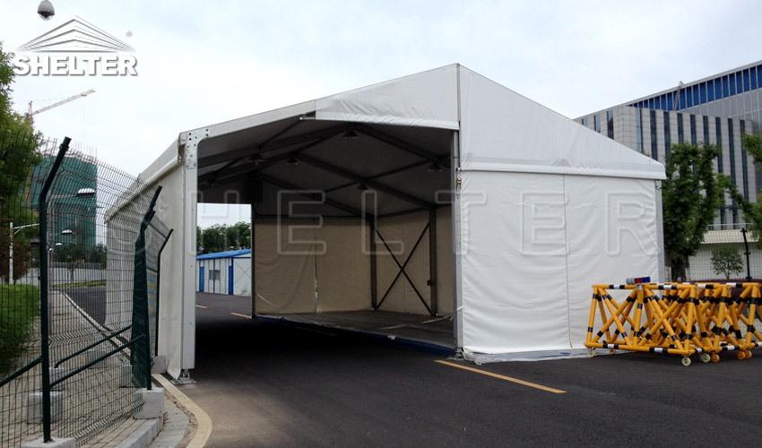 Drive-Thru Testing Tents For Convid-19-Shetler-emergency tent-2