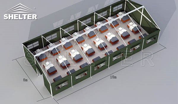 disaster relief shelter temporary emergency shelter for sale field hospital (1)