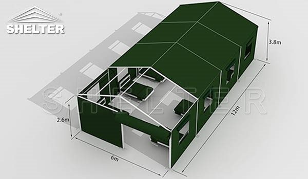 disaster relief shelter temporary emergency shelter for sale field hospital (2)