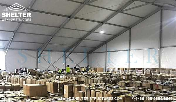 emergency shelter wholesale - medical supplies warehouse tent for sale -3
