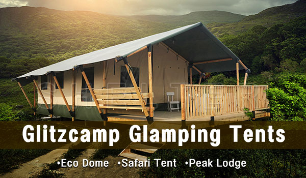 glitzcamp glamping tent catalog