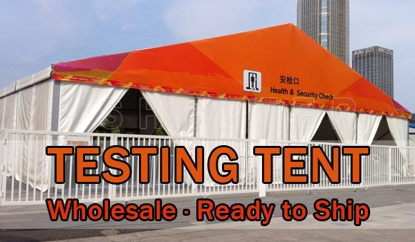 quarantine tent testing tent wholesale ready to ship Medical supplies storage tent