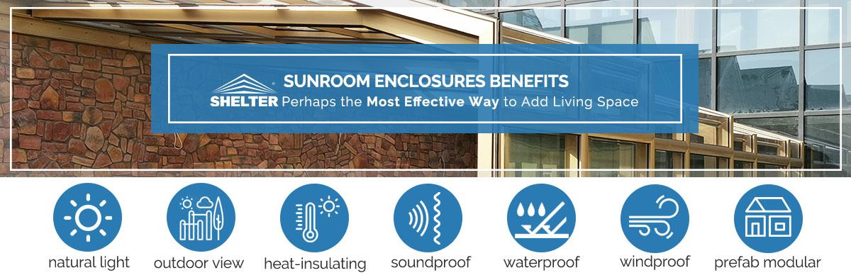 sunroom benefits-why choose sunroom and pool enclosures-Shelter sunroom