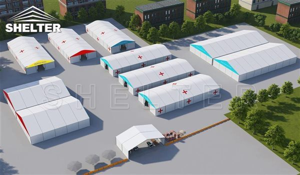emergency shelter for sale - temporary field hospital solution (2)